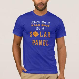 Camiseta Eso no es un punto calvo que es un panel solar