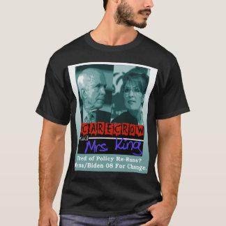 Camiseta Espantapájaros y señora rey