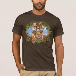 Camiseta Especie en peligro escudo del tigre
