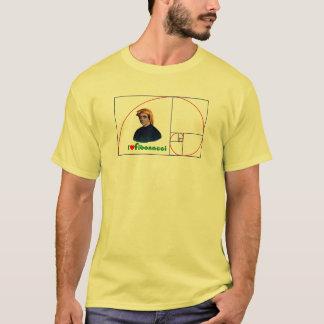 Camiseta Espiral de Fibonacci