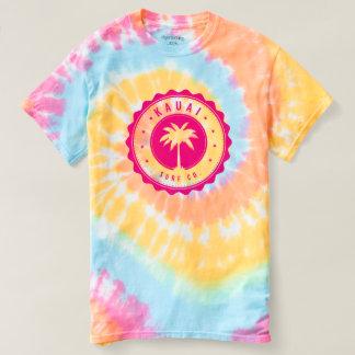Camiseta espiral del teñido anudado del Co. de la