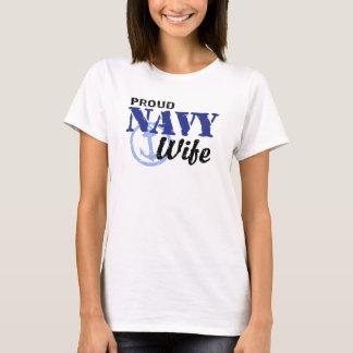 Camiseta Esposa de la marina de guerra