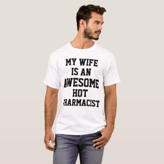 Camiseta Esposa del farmacéutico