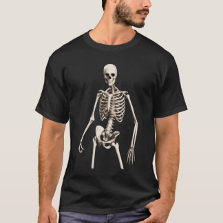 Camiseta esquelética chula