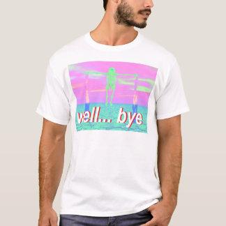 Camiseta esqueleto bien del adiós