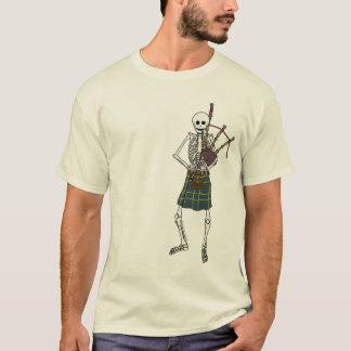 Camiseta Esqueleto del gaitero