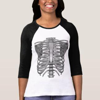 Camiseta esqueleto fácil del traje de Halloween