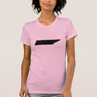 Camiseta Esquema del estado de Tennessee