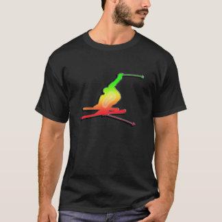 Camiseta Esquí liso de la nieve