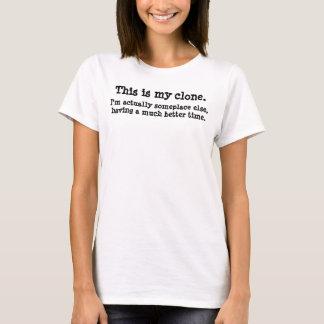 Camiseta Ésta es mi copia