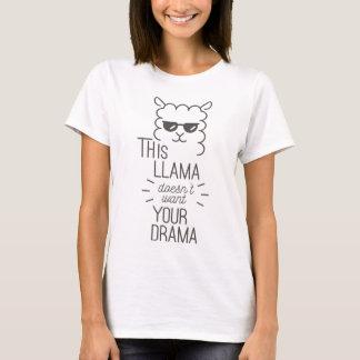 Camiseta Esta llama no quiere su drama