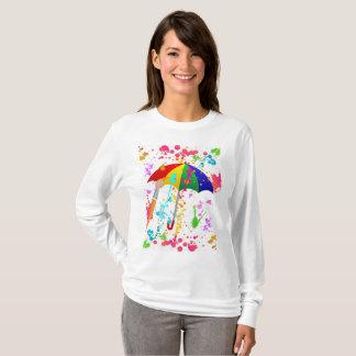 Camiseta ¡Está lloviendo! Edición fresca de la pintura