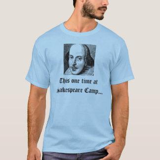 Camiseta Esta una vez en el campo de Shakespeare…