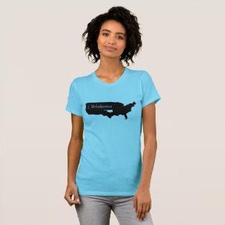 Camiseta Estado de Oklahoma en América