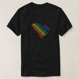 Camiseta Estado del arco iris de Carolina del Sur