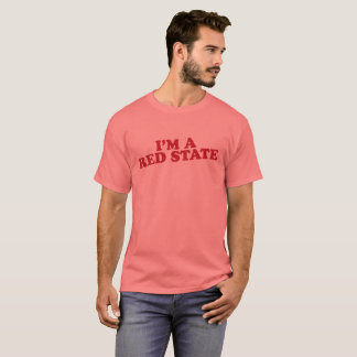 """Camiseta """"Estado rojo """""""