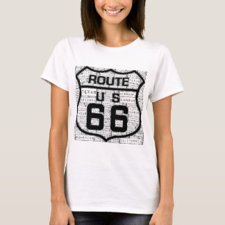 Camiseta Estados de la ruta 66