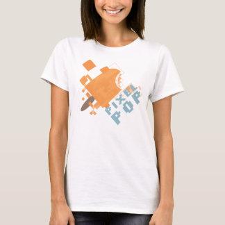 Camiseta Estallido del pixel