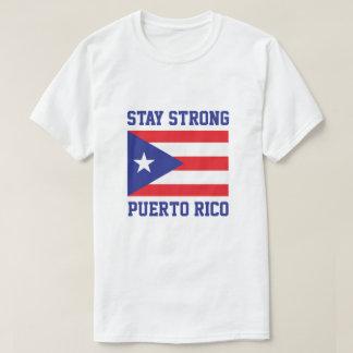Camiseta Estancia Puerto Rico fuerte después del huracán