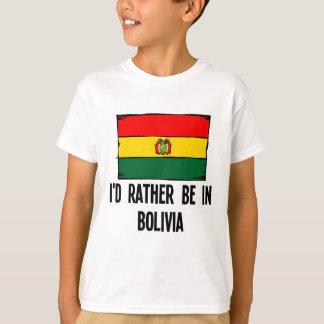 Camiseta Estaría bastante en Bolivia