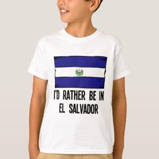 Camiseta Estaría bastante en El Salvador