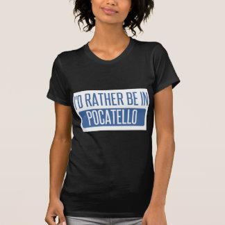 Camiseta Estaría bastante en Pocatello