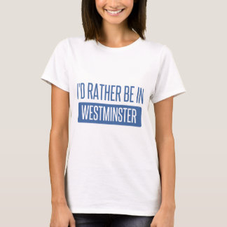 Camiseta Estaría bastante en Westminster CO