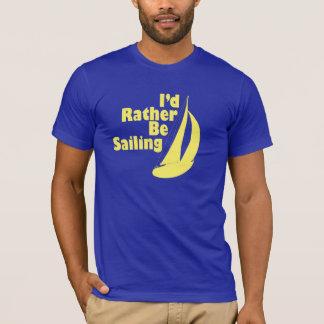 Camiseta Estaría navegando bastante