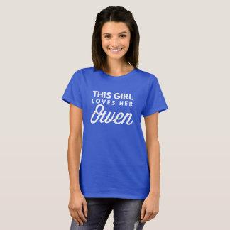 Camiseta Este chica ama a su Owen