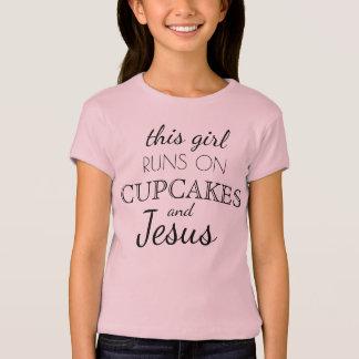 Camiseta Este chica corre en las magdalenas y los chicas de