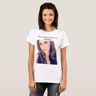Camiseta ¡Este chica sabe a Wallride!