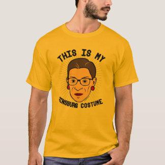 Camiseta Éste es mi traje de Ruth Bader Ginsburg --