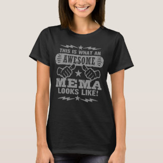 Camiseta Éste es un qué Mema impresionante parece