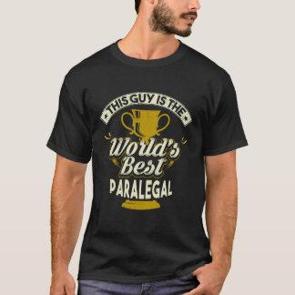 Camiseta Este individuo es el mejor Paralegal del mundo
