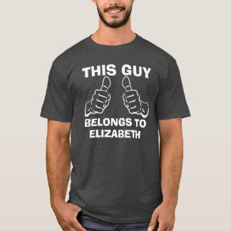 Camiseta Este individuo pertenece para incorporar el