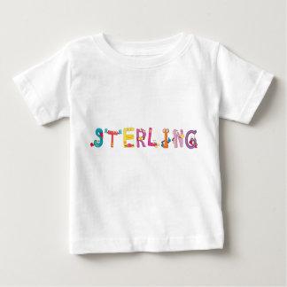 Camiseta esterlina del bebé