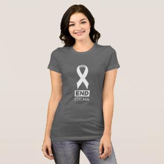 Camiseta Estigma del extremo para el cáncer de pulmón