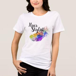 Camiseta Estilista - acuarelas de la pluma