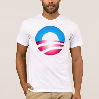 """Camiseta estilizada de Obama """"O"""""""