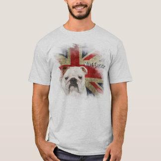 Camiseta Estilo británico intrépido Union Jack del Grunge