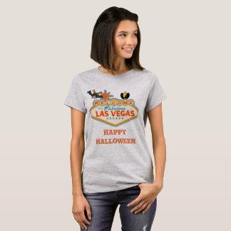 Camiseta Estilo de Las Vegas del feliz Halloween