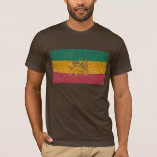 Camiseta Estilo de Van Gogh de la bandera de Rastafari