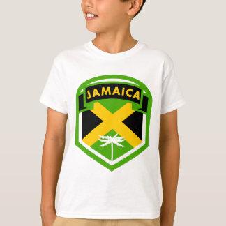 Camiseta Estilo del escudo de la bandera de Jamaica