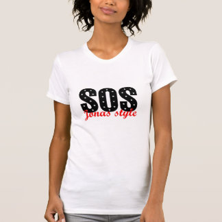 Camiseta Estilo el SOS Jonas