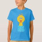 Camiseta Estilo grande de la obra clásica del pájaro