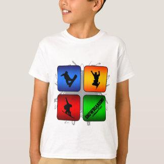 Camiseta Estilo urbano de la snowboard asombrosa
