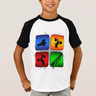 Camiseta Estilo urbano del motocrós asombroso