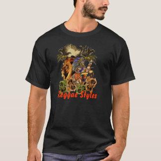 Camiseta Estilos del reggae