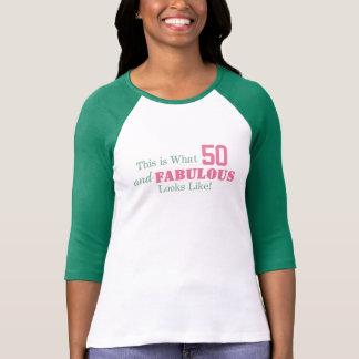 Camiseta ¡ESTO es de lo que tienen gusto 50 y las miradas