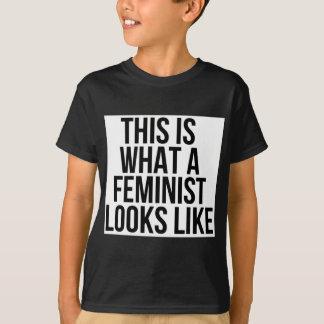 Camiseta Esto es lo que parece una feminista - feminismo